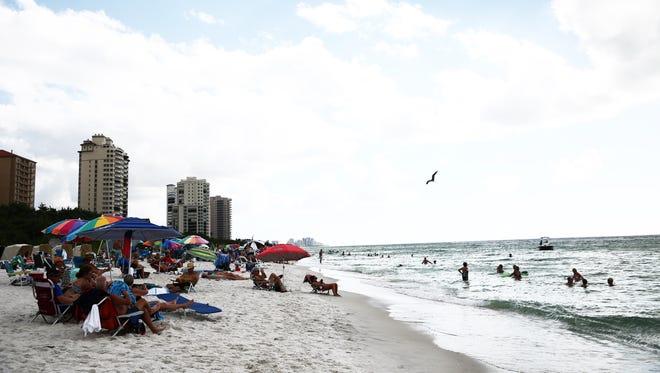 Vanderbilt Beach in Naples on Nov. 18, 2015.