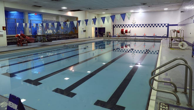 A view of the pool at the New Rochelle YMCA. The organization is trying to raise $200,000 in the next month to pay for repairs.