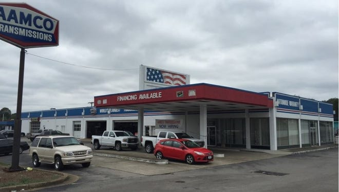 Frank May paid $2.25 million for 1212 Gallatin Pike S., which is  home to an AAMCO Transmissions & Total Car Care and Whatever It Takes.