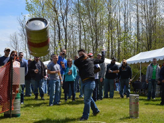 The sixth annual R2Hop2 Beer and Music Festival at Fordham & Dominion Brewing Company in Dover on April 22 will include a keg toss competition.
