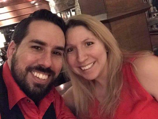 Elisa Almond and her husband, Rick.