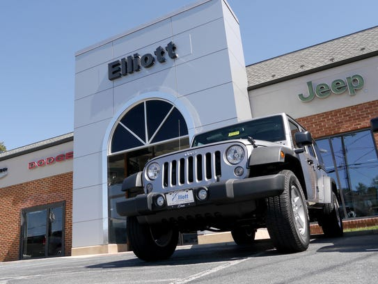 The former Elliott Jeep, Dodge and  Chrysler dealership