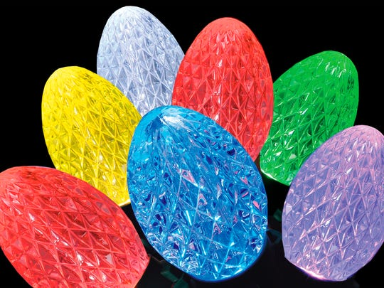 GE offers the latest in lighting technology with its new iTwinkle holiday light sets and pre-lit Christmas trees. Each of the bulbs holds three LEDs -- red, green and blue -- that can be combined to create thousands of color choices.