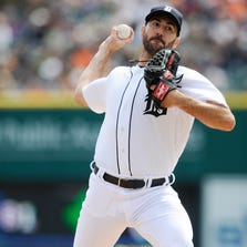 Tigers pitcher Justin Verlander draws the start Friday night to open a pivotal three-game series tonight against the Royals.