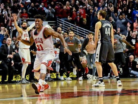 01cf5996381 Jimmy Butler. Chicago Bulls forward Jimmy Butler