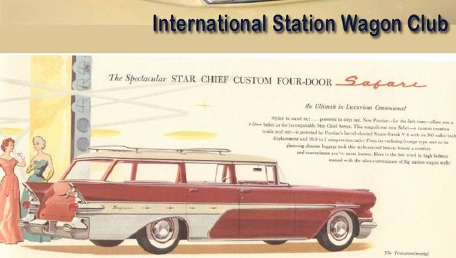 The International Station Wagon Club will hold its 2016 annual convention in June 21-25 in at the Clarion Inn at 550 Airport Road, Fletcher.
