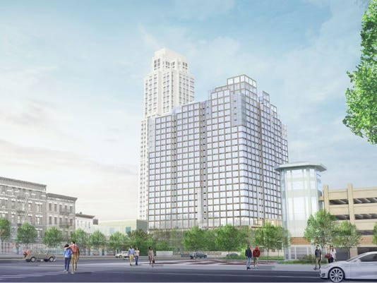 Mixed-use development at 277 North Ave., New Rochelle