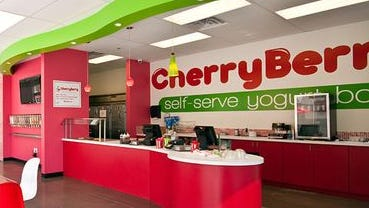 A typical CherryBerry shop.