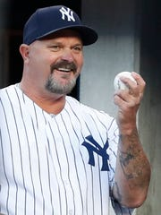 Former New York Yankees stating pitcher David Wells