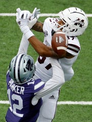 Mississippi State receiver Osirus Mitchell said there might be a chemistry issue between Bulldog quarterbacks and the wide outs this year.