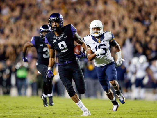 TCU's Josh Doctson averaged over 100 yards receiving