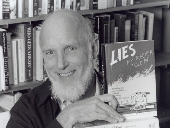 James Loewen, a best-selling writer and prominent critic