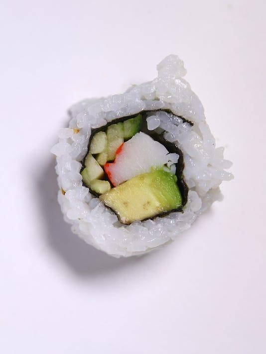 Sushi taste test | Safeway – California roll