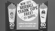 Special edition 1973 baseball Slurpee cups.