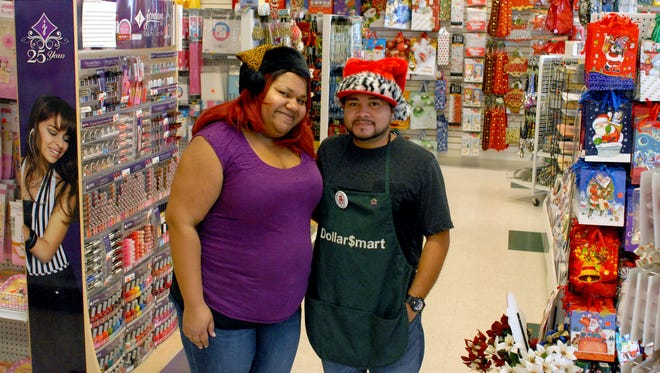 Eboni and Shane Cash own the Dollar$mart Parties business in the Del Rey shopping plaza. Eboni's mother, Eddie Lacy, was a well-known restauranteur in Las Cruces before she was killed in a car crash two days before Christmas in 2011.