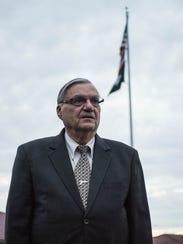 Sheriff Joe Arpaio faced a tough re-election fight