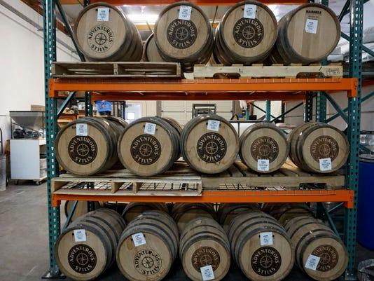 Adventurous Stills barrels