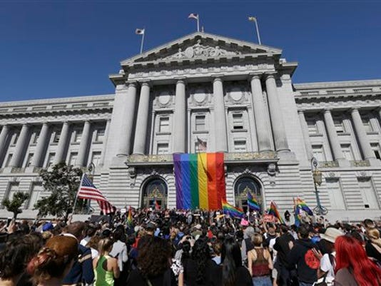 Gay Pride celebration SF