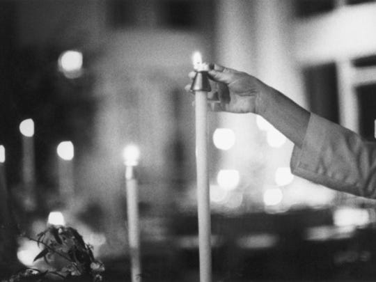 Rabbi Robert S. Green will offer prayers for the departed and oversee the lighting of memorial candles for the Jews and Gentiles who perished in the Holocaust.