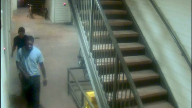 Police are asking for help identifying two men who allegedly broke into an apartment on UL's campus in June.