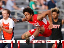 Growth spurt transforms West Lafayette's Kyle Hazell into state track hopeful