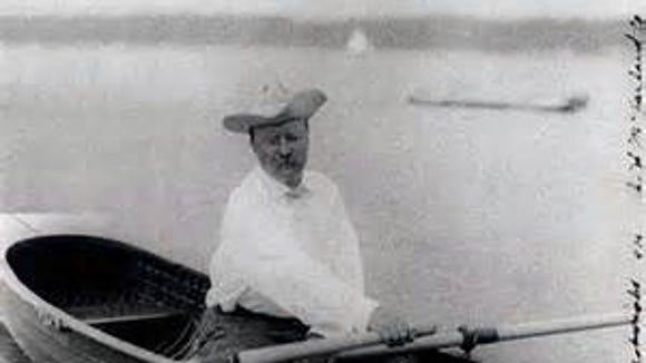 Theodore Roosevelt, visitor to North Dakota
