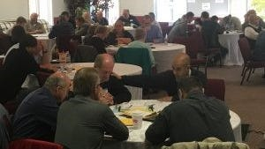 """""""U.B. Connected"""" was a conference held November 6-7 at Rhodes Grove Camp."""