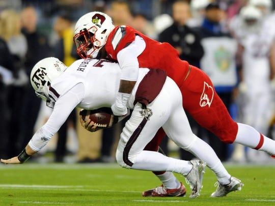 Louisville linebacker Devonte Fields is part of a strong