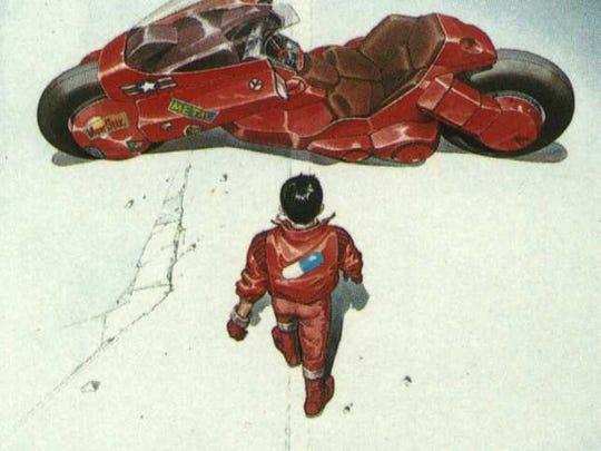 Original 'Akira' Japanese poster art