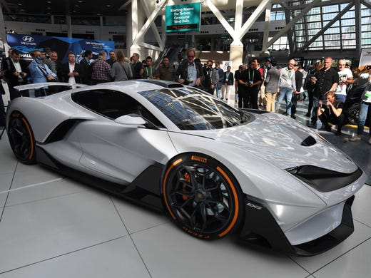 This American Supercar Will Have 1,150 Horsepower