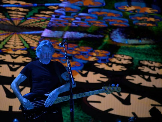 Roger Waters performs at Bridgestone Arena in Nashville