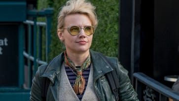 Jillian Holtzmann (Kate McKinnon) is the quirky highlight of the new team in 'Ghostbusters.'