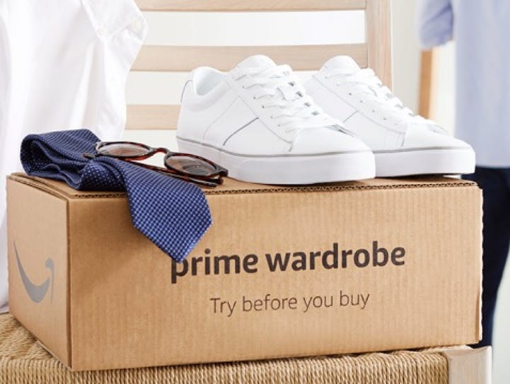 Amazon has made its try-before-you-buy service, Prime