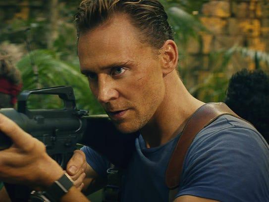 Tom Hiddleston stars as a mercenary pursuing a monstrous