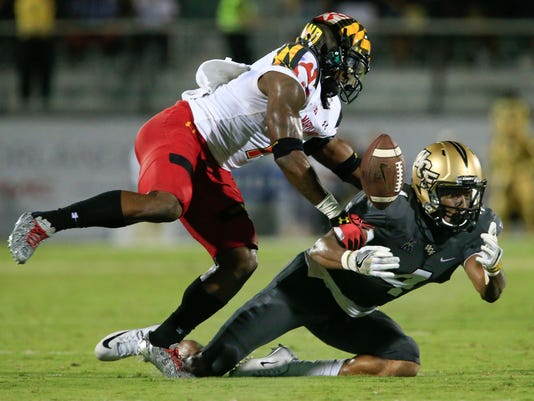 NCAA Football: Maryland at Central Florida