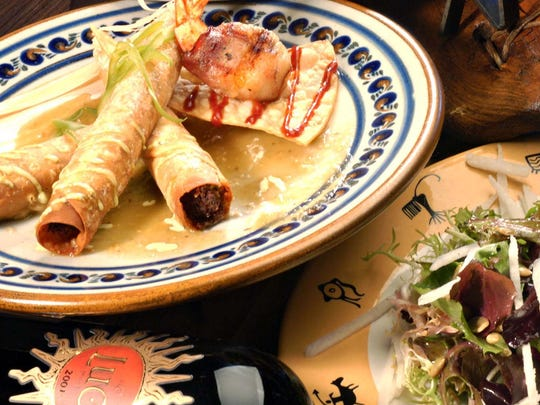 Sampling of dishes at Tonto Bar and Grill.