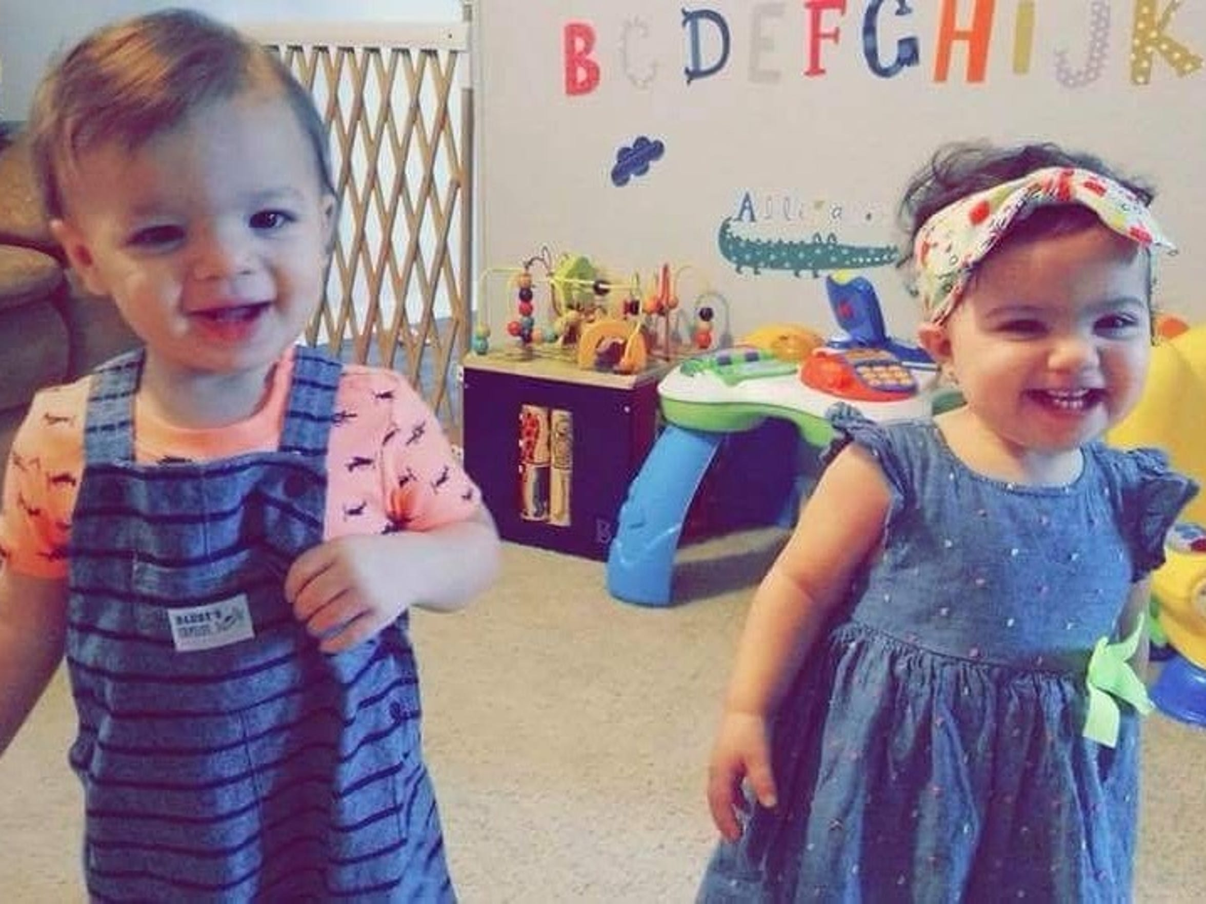 Elijah, left, and Elyssa Orejuela died after falling into a pool at an unlicensed day care in Knoxville last year.