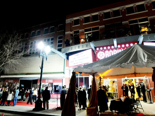 The Robbys Red Carpet Party at the Robinson Film Center.
