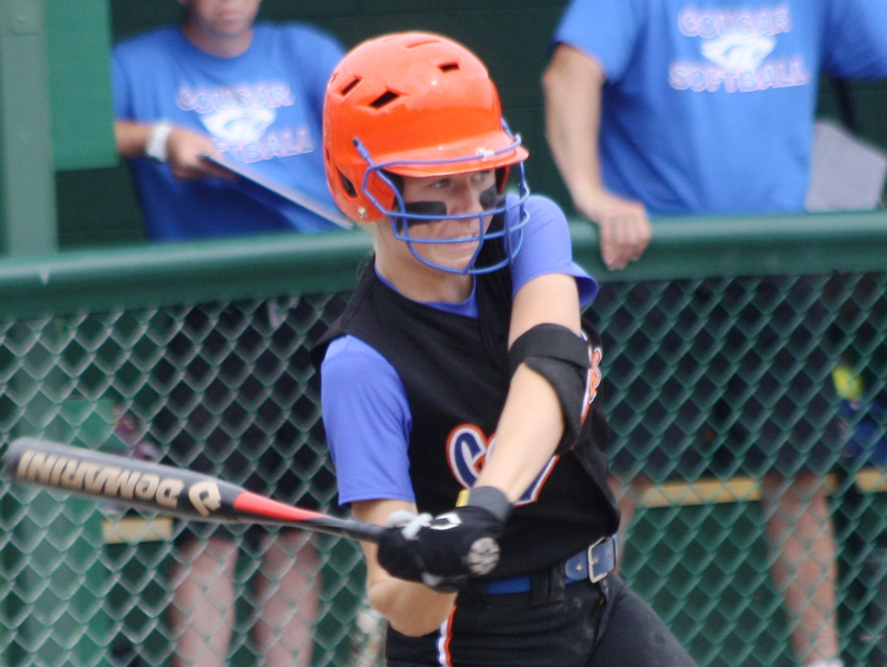 Junior shortstop Kaylen Glenfield earned all-state honorable mention accolades last season.