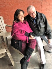 Downtown Tour – We bumped into Marisela DeLaParra, newly relocated to Evansville and Terry Becker giving her a personal tour of Evansville's wonderful downtown.