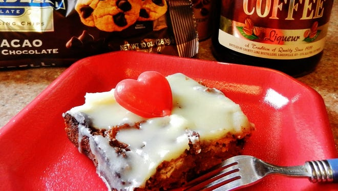 Try a little chocolate bread pudding for V-Day.