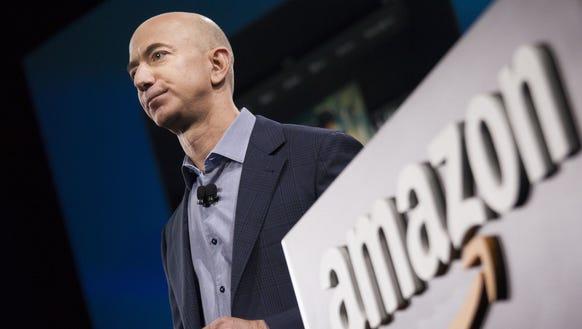Amazon founder and CEO Jeff Bezos.