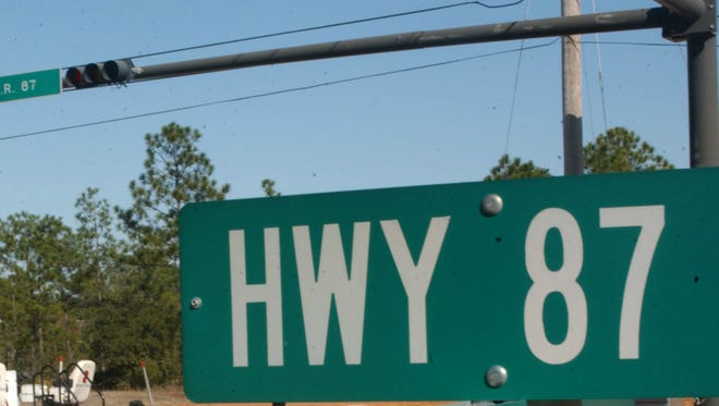 The speed limit on a short stretch of State Road 87 near U.S. 98 in Navarre will be lowered this week, sparked by safety concerns on the heavily-traveled roadway.
