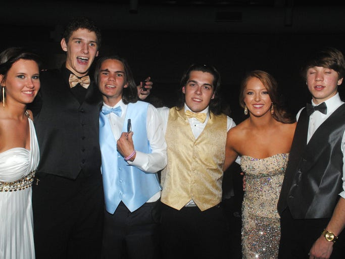 Woodmont held their prom Saturday, May 10, 2014 at Fluor in Greenville.