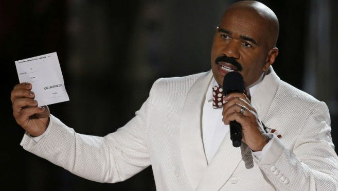 Entertainer Steve Harvey is having a press conference Saturday at ASU Stadium that's related to the 2016 football season.