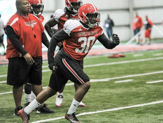 T.J. Posey is the only mainstay on the Cajuns' inside