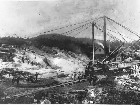 Langdon Quarry was purchased by James Boutwell in 1895.