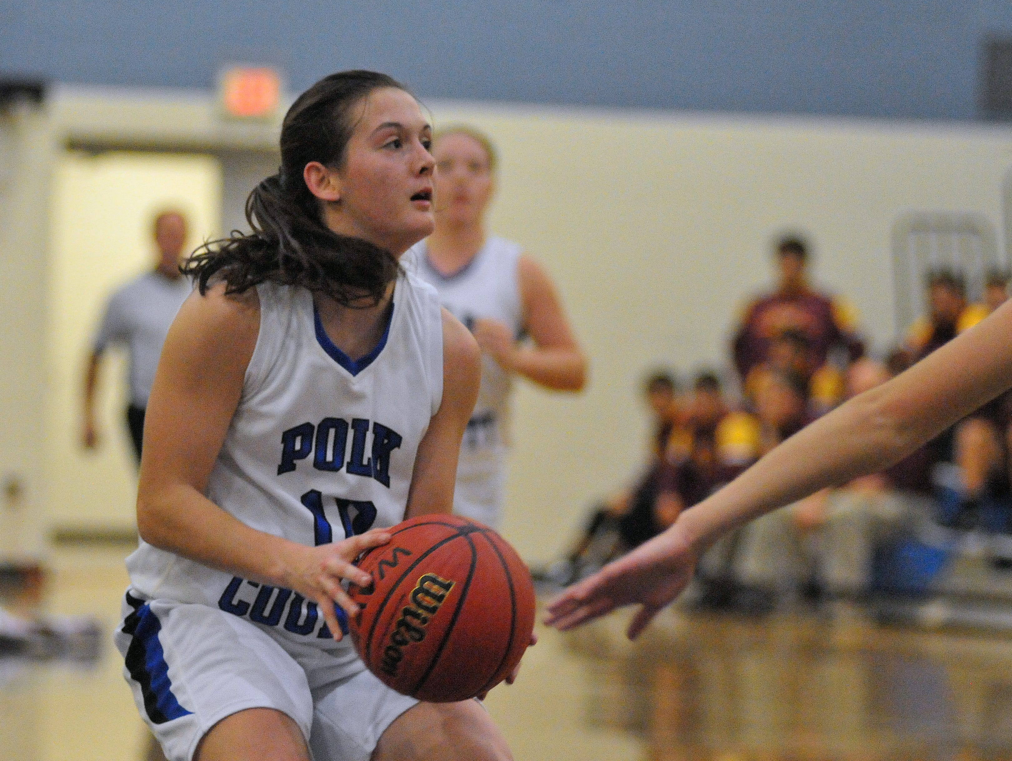 Polk County senior Hayley Kropp is the Western Highlands Conference Player of the Year.