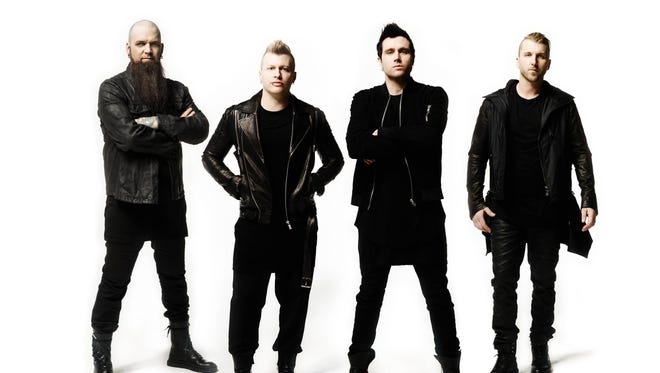 Three Days Grace will rock the Outagamie County Fair grandstand on July 30.