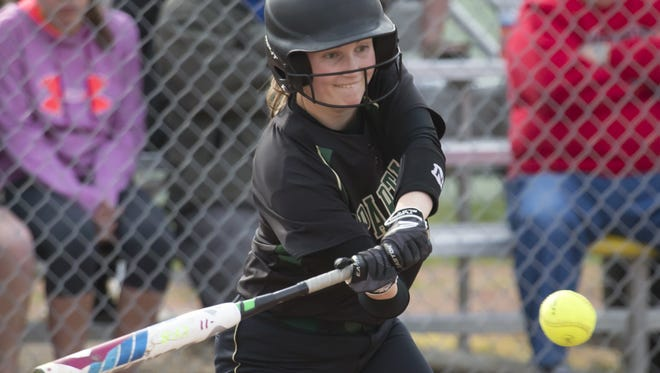 Lauren Christie was batting .410 for Oshkosh North before suffering a season-ending knee injury.